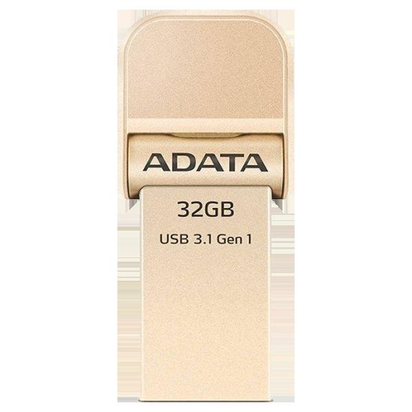 ADATA i-Memory Flash drive 32G Gold AAI920-32GB