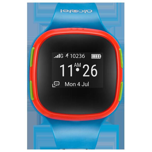 Alcatel Kids Watch Care Time blue-red cu PrePay
