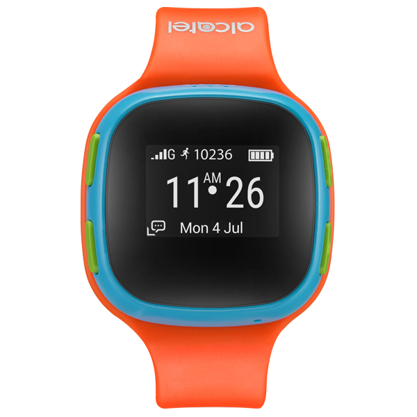Alcatel Kids Watch Care Time orange-blue cu PrePay