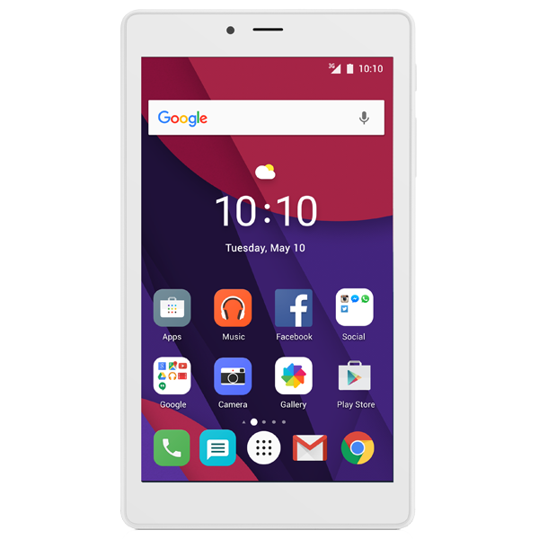 Alcatel Pixi 4 7 inch white reconditionat