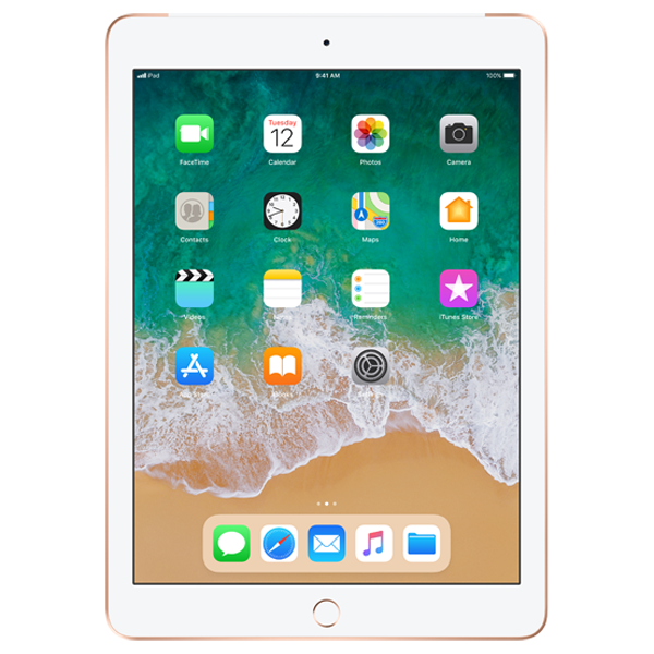 Apple iPad 6 Wi-Fi Cellular 32GB Gold