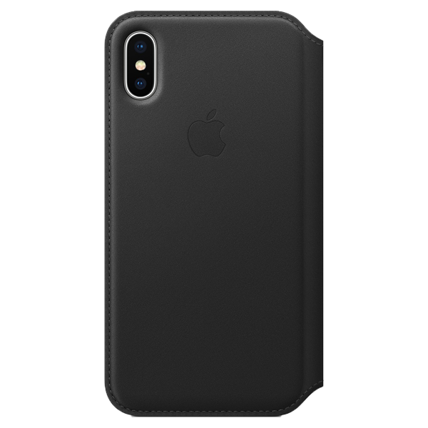 Apple iPhone XS Leather Folio