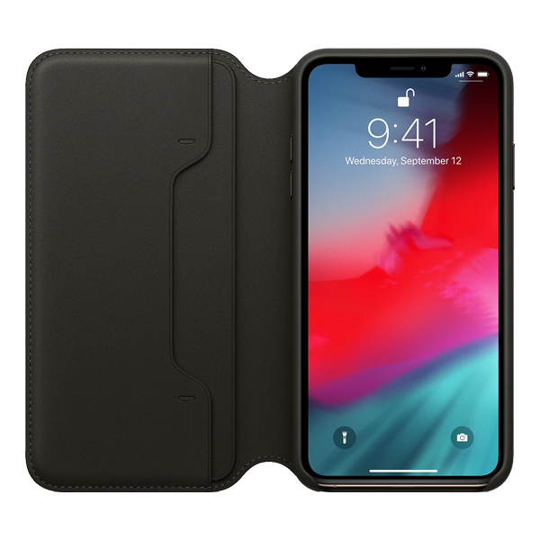 Apple iPhone XS Max Leather Folio