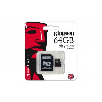 Card De Memorie Kingston Micro Sdhc - 64gb Clasa 10 Gen 2