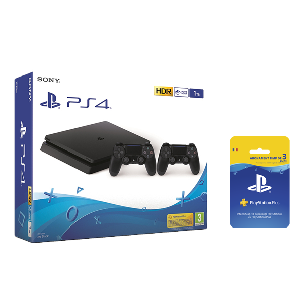 Consola PlayStation4 1TB Extracontroller ab PSPlus 90zile