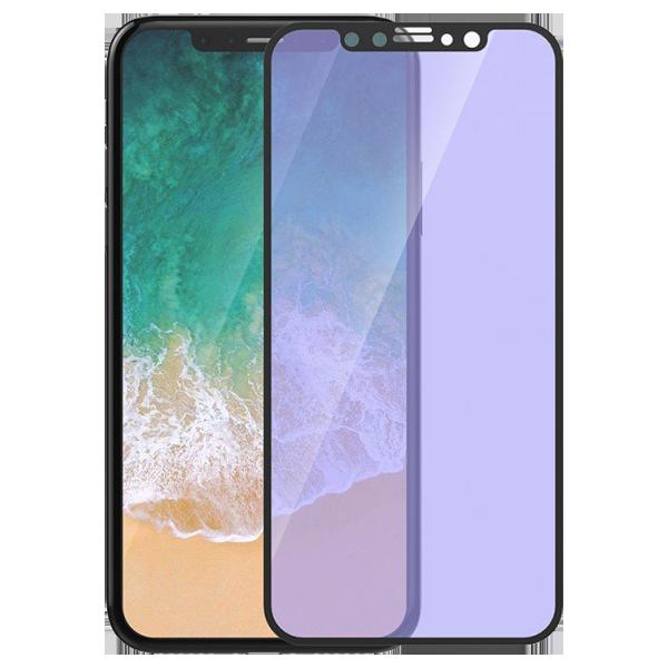 Devia Folie Sticla Van Anti-BlueRay Full iPhone X Black