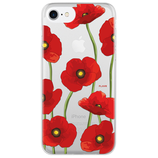 FLAVR Carcasa iPhone 7 iPlate Poppy