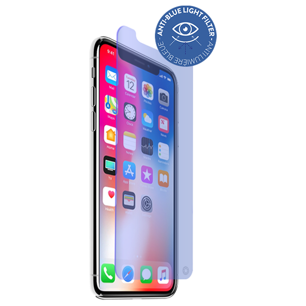 Force Glass folie sticla filtru anti-blue kit IPhone X