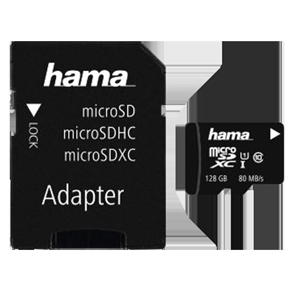 Hama microSD clasa 10 128 GB C10