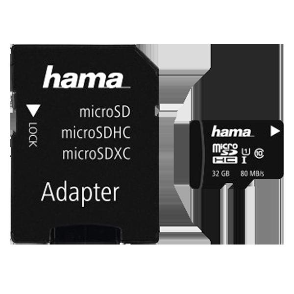 Hama microSD clasa 10 32 GB C10