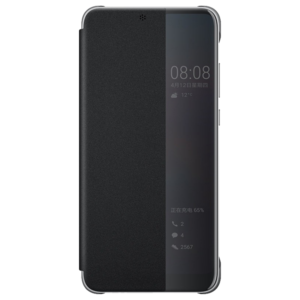 Huawei P20 View cover Black