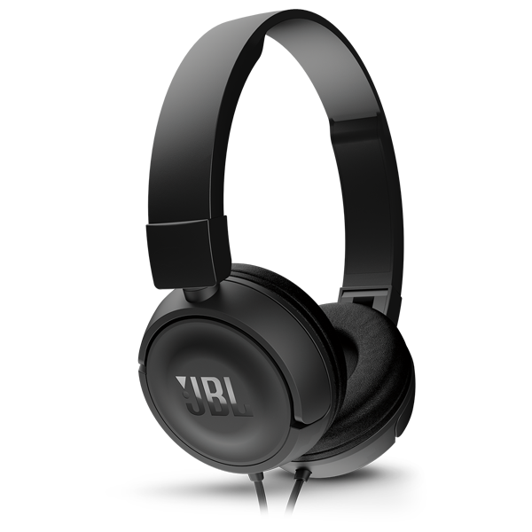 JBL Casti On Ear T450 Negre 1 buton remote and mic