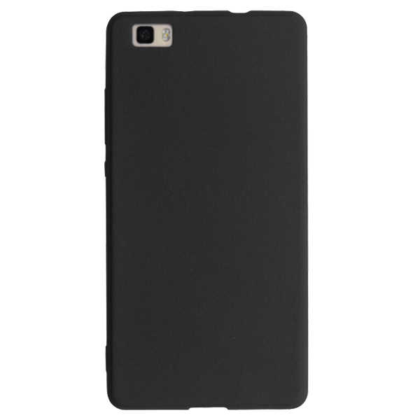 Just Must Husa Silicon Candy Negru pentru Huawei P8 Lite