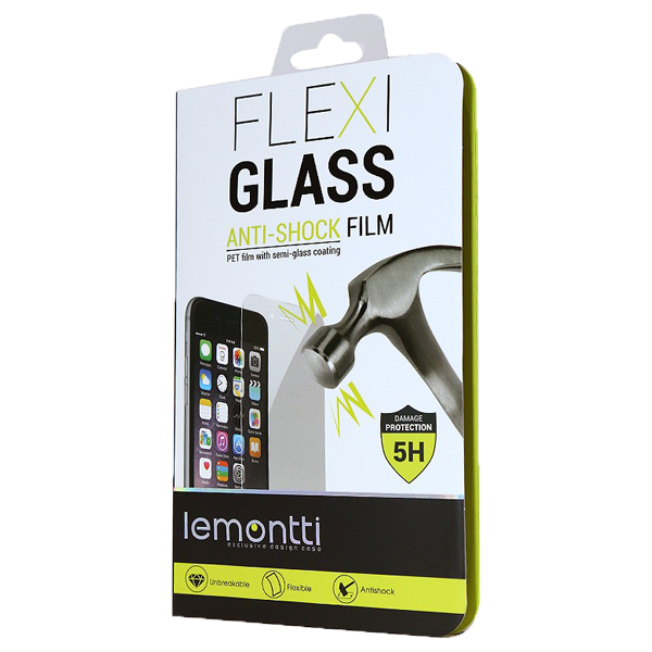 Lemontti Folie Flexi-Glass 5H Alcatel U5 3G