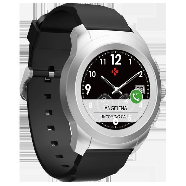 MyKRONOZ Smartwatch ZeTime Elite 39 mm Argintiu
