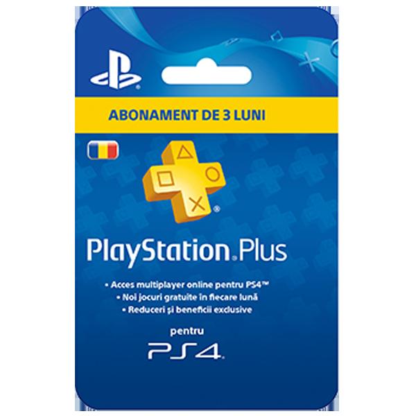PlayStation Plus Abonament 90 zile