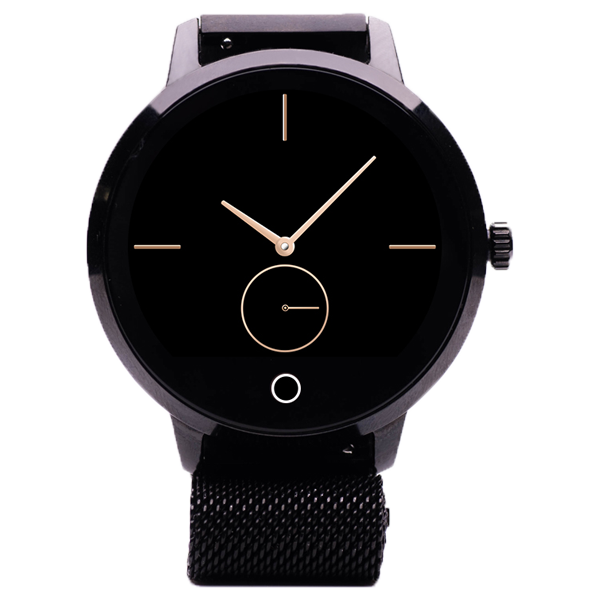 Smartwatch E-Boda Raven bratara milanese neagra