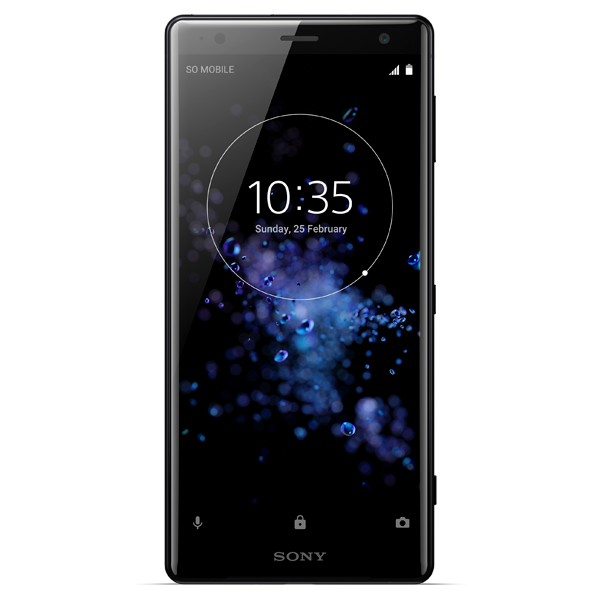 Sony Xperia XZ2 black Reconditionat