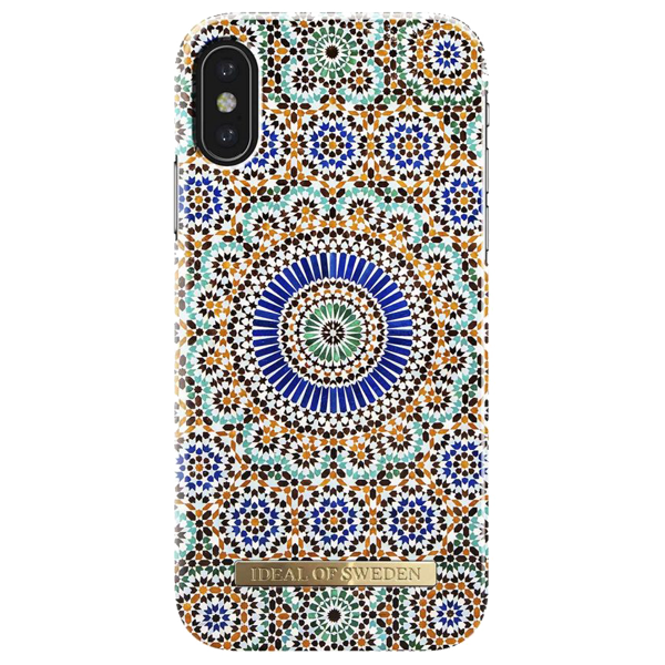 iDEAL OF SWEDEN husa Fashion Moroccan Zellige iPhone X
