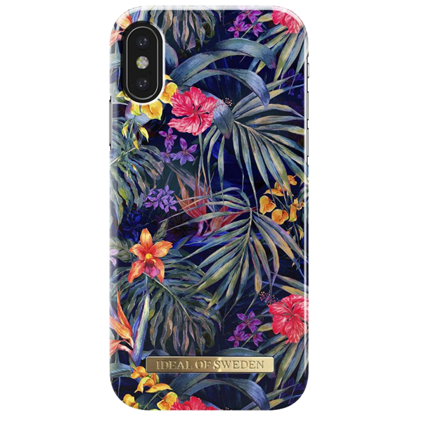 iDEAL OF SWEDEN husa Fashion Mysterious Jungle iPhone X