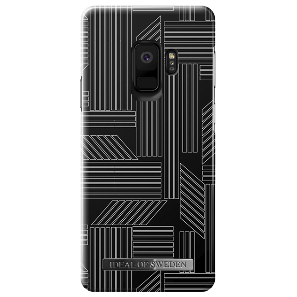 iDEAL OF SWEDEN husa Geometric Puzzle Galaxy S9