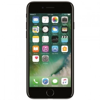 Iphone 7 256gb 4g Jet Black Vdf