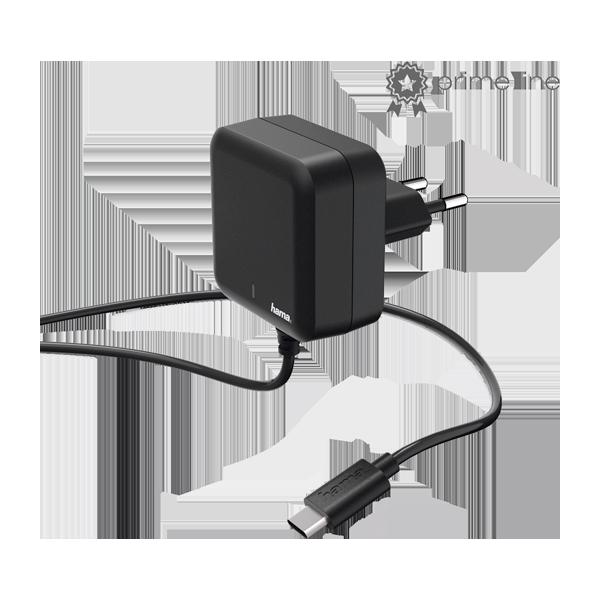 Hama incarcator priza USB-C PD 3A Black
