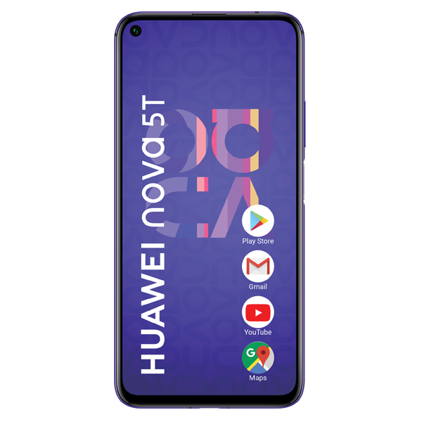 Huawei Nova 5T 128GB DUAL SIM Purple Reconditionat
