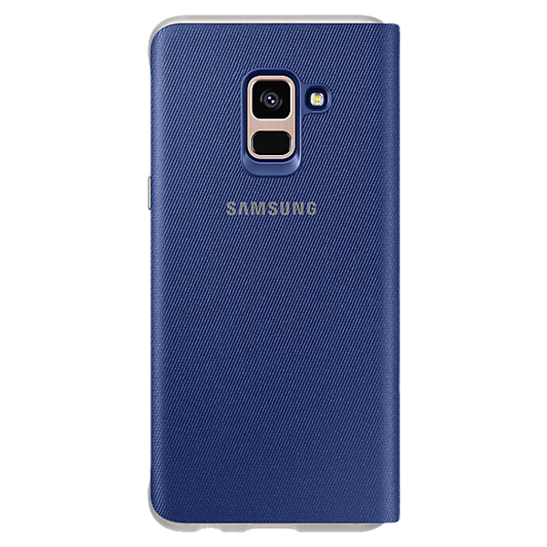 Samsung Neon Flip cover Blue Galaxy A8 2018